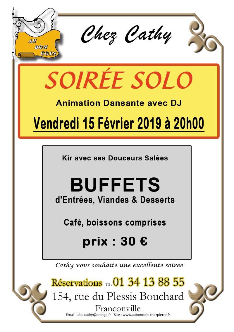 The Dansant Fevrier 2019 Casino 2000